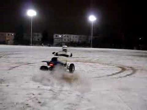 Yamaha Banshee snow Video