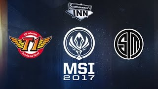 SKT vs TSM - MSI 2017: Gruppenphase, Tag 2