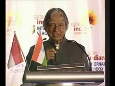 GIISVideo - Speech by Dr. APJ Abdul Kalam at GIIS Singapore (2/3)