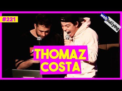 WEBBULLYING #221 - THOMAZ COSTA VOLTANDO COM LARISSA MANOELA (São Paulo - SP) Vídeos de zueiras e brincadeiras: zuera, video clips, brincadeiras, pegadinhas, lançamentos, vídeos, sustos