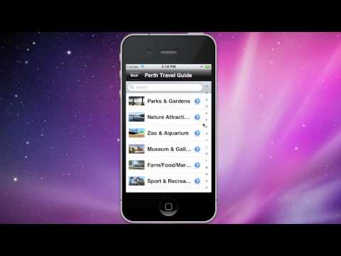 Perth Western Australia  Travel Guide - iPhone App