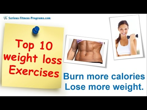 Top 10 Best Exercise For Weight Loss, Exercises To Lose Weight Fast