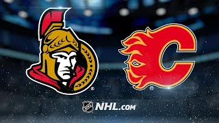 Anderson, Senators shut out Flames, 6-0