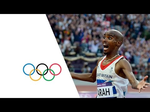 Mo Farah Wins Men's 5000m Gold   London 2012 Olympics