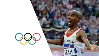 Mo Farah Wins Men's 5000m Gold - London 2012 Olympics