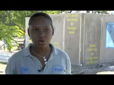 Belladere, Haiti, UN & Unicef Interview
