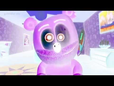 Gummibär Color Invert Mr. Mister Gummibär Gummy Bear Song video