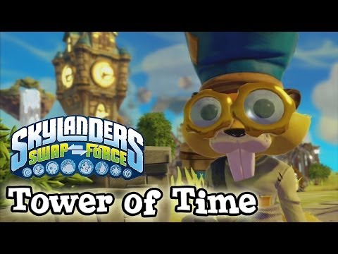 Let's Play Skylanders SWAP FORCE - TOWER OF TIME Adventure Pack