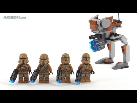 LEGO Star Wars Geonosis Troopers review! set 75089