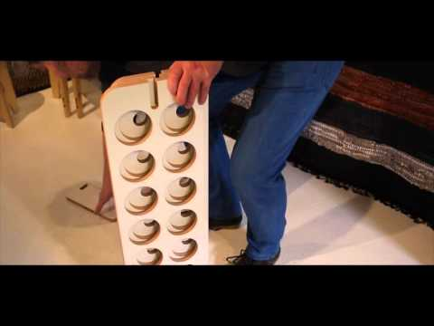How to assemble tour Slide Art Wine Rack VINO