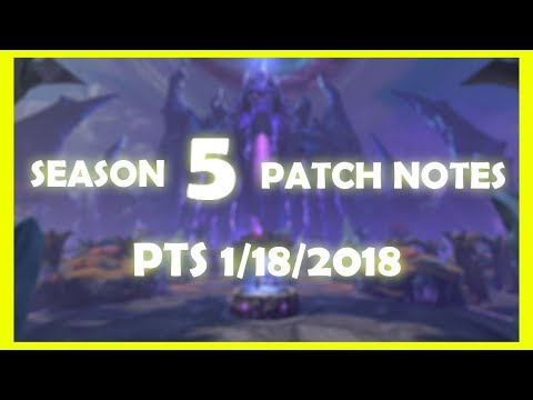 Smite Season 5 Gameplay! 5.1 Patch Notes