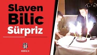 Futbolculardan Slaven Bilic'e büyük sürpriz - BJK TV