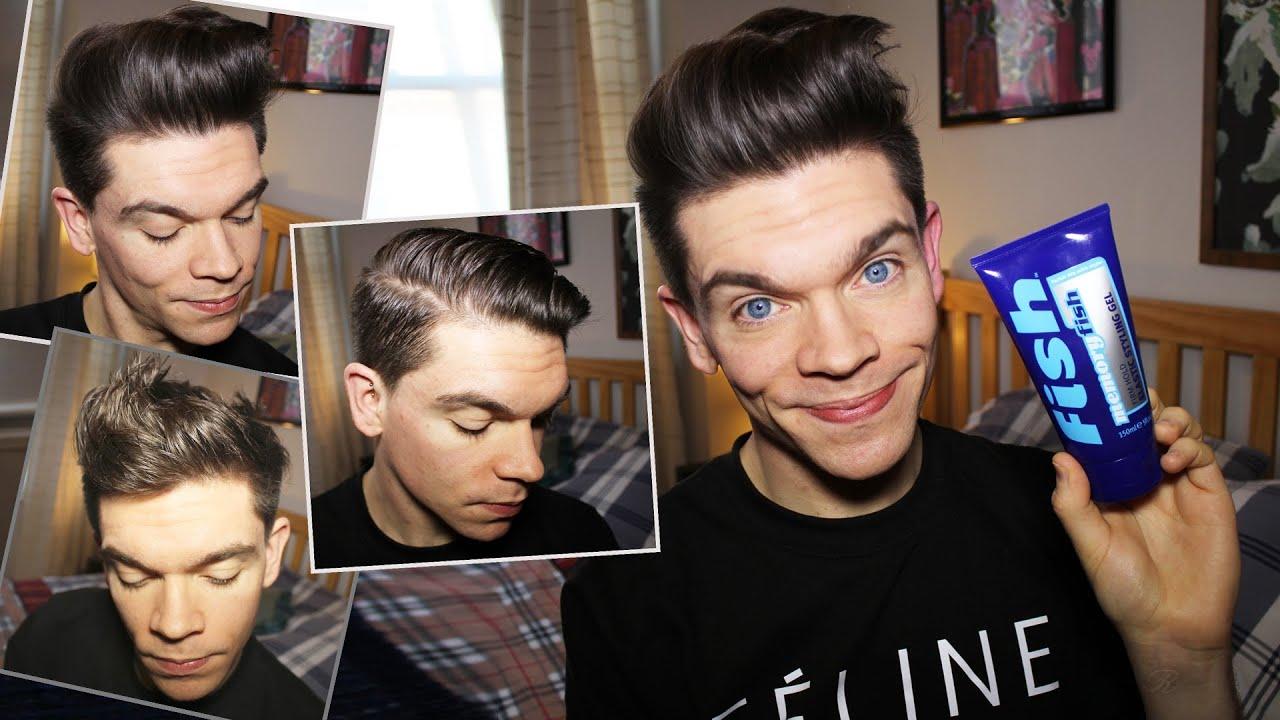 Гель для волос фото причесок