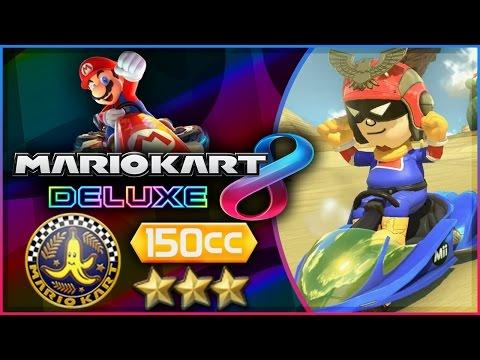 Mario Kart 8 Deluxe - Part 4   Banana Cup 150cc Triple-Star! [Nintendo Switch Gameplay]