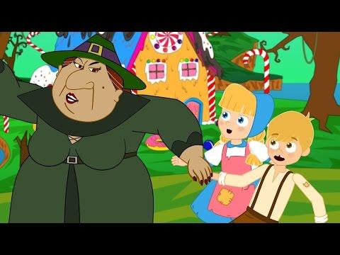 Гензель и Гретель - Мультфильм - сказки для детей - сказка