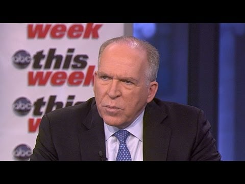 John Brennan Interview on ABC's 'This Week': White House's Top Counterterrorism Official