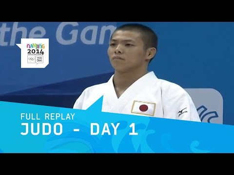 Judo - Opening Day Medals | Full Replay | Nanjing 2014 Youth Olympic Games Image 1