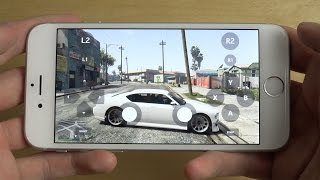 GTA 5 iPhone 6S NVIDIA GameStream Gameplay!