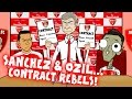 OZIL & SANCHEZ - contract REBELS! Will Wenger trick them into signing a new deal? MP3