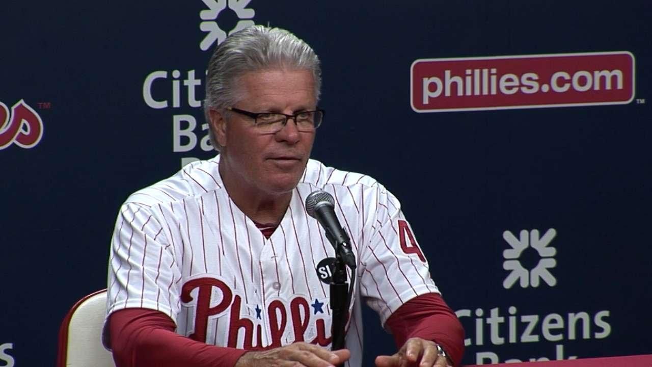 MIL@PHI: Mackanin discusses the Phillies' 7-4 loss