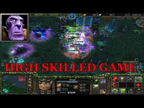 DOTA 1 DIRGE - UNDYING Vs. HIGH SKILLED PLAYERS (13k)