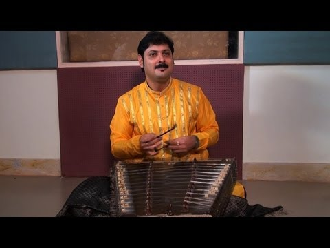 Sandip Chatterjee playing Santoor