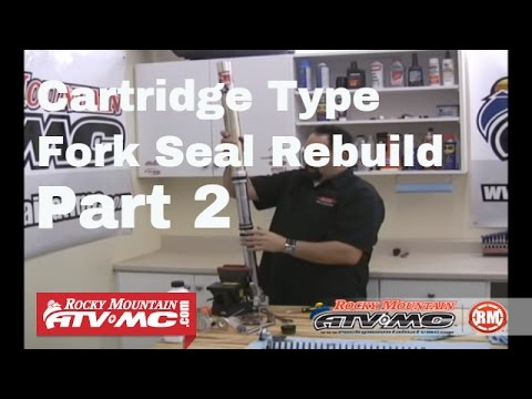 Change Motorcycle Fork Seals Part 2 (of 2) Cartridge Type