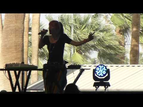 Grimes 'Genesis' Live at Coachella 2013