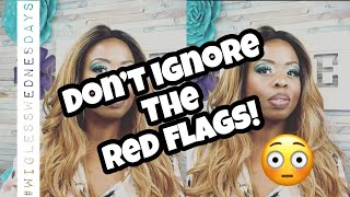 Don't Ignore The Red Flags! #wiglesswednesdays #love #relationships #tedtalks