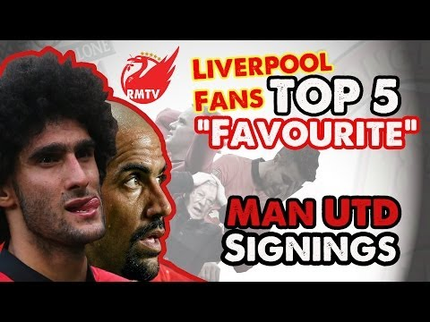 Paul of The Redmen TV presents the Top 5 Man United Signings of All Time (According to Liverpool Fans)... Get ready for a countdown of terror (if you're a United fan that is...) The Redmen...