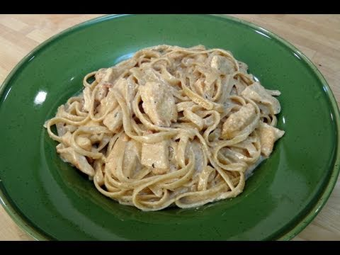 Fettuccine Alfredo with Chicken - Recipe by Laura Vitale - Laura...