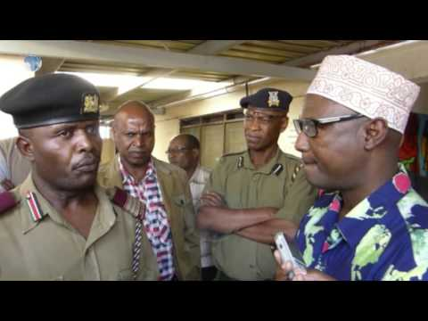 Isiolo county commissoner's impromptu visit to county hospital disrupted by Governor Doyo