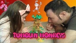 Tumblin Monkeys con mi padre - Juego de mesa