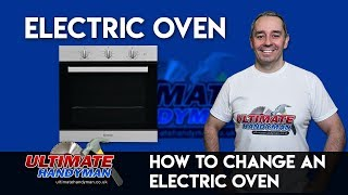 how to replace a built in electric oven