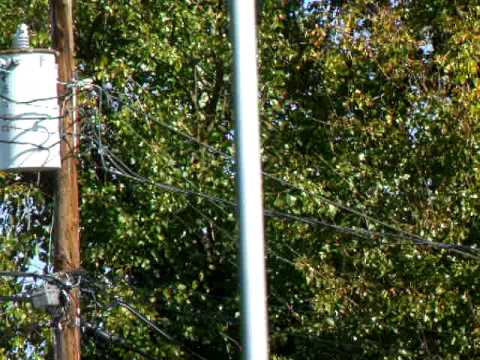 Ham Radio my Cushcraf Vertical Antenna R7