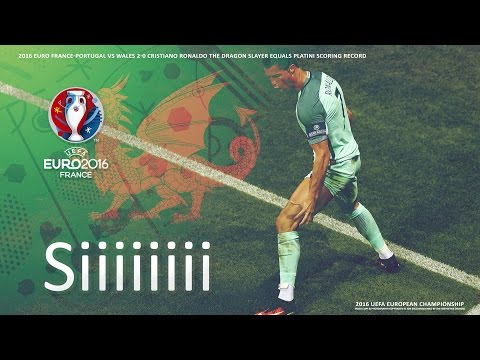 Cristiano Ronaldo the Dragon Slayer equals Platini scoring record SIII Remix