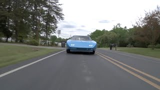 Richard Petty's 200mph Plymouth Superbird On The Road