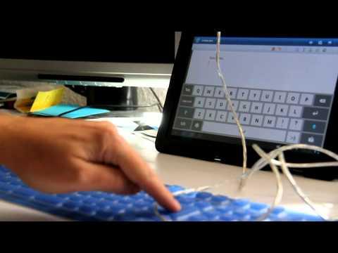 Utilizando un teclado USB. Tablet Samsung Galaxy Tab 10.1
