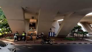 Trotoar / Pedestrian Sudirman Ratu Plaza, GBK, Benhil, karet, Dukuh Atas