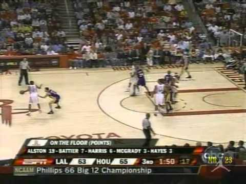 Rafer Alston 8 three pointers Highlights vs.Los Angeles Lakers 2008