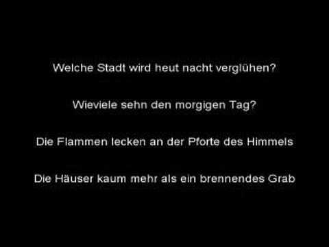 Eisregen - Deutschland In Flammen