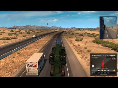 Путешествие из Феникса в Барстов до цели остается этот груз  #10 - American Truck Simulator
