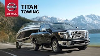 2017 Nissan TITAN | Towing Features Explained