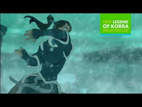 The Legend of Korra - Book 2 Clip Scene (Exclusive Preview)