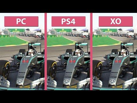 F1 2015 – PC vs. PS4 vs. Xbox One Graphics Comparison [60fps][FullHD]