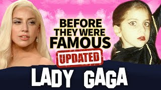 LADY GAGA | Before They Were Famous | A Star Is Born Biography UPDATED