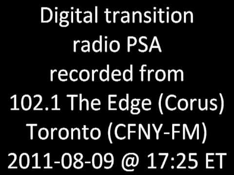 Government of Canada digital transition radio PSA (2011-08-09)