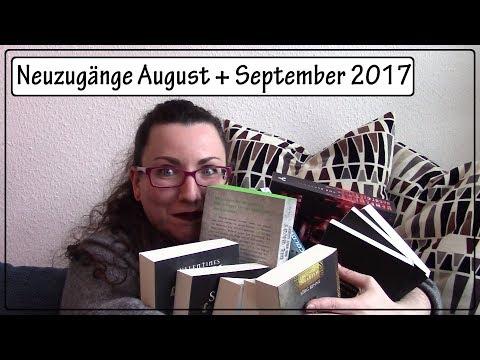 Neuzugänge August + September 2017 || 17 neue Bücher ;)