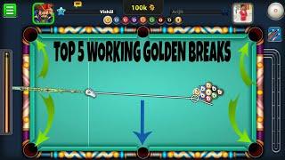 Top 5 Working Golden Breaks l For New Update l September 2017