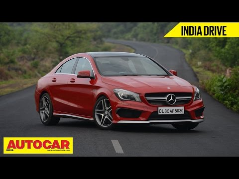 Mercedes-Benz CLA 45 AMG | India Drive Video Review | Autocar India